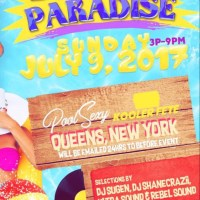 DRINKAZ PARADISE POOL PARTY KOOLER FETE JULY 2017
