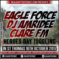 EAGLE FORCE  AND CLARE FM IN ST THOMAS HEROES DAY 16TH OCTOBER 2017