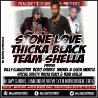 STONE LOVE THICKA BLACK AND TEAM SHELLA IN BAY SHORE HARBOUR VIEW 17TH NOVEMBER 2017