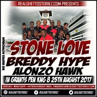BREDDY HYPE X STONE LOVE IN GRANTS PEN 25TH AUGUST 2017