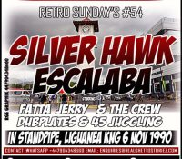 RETRO SUNDAYS # 54 – SILVERHAWK VS ESCALABA IN STANDPIPE.NOV1990