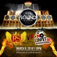 ROYALTY SOUND VS NO LIMIT AT ALL STAR BOOM CLASH 8TH MARCH 2018