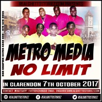 METRO MEDIA LS NO LIMIT IN MILK RIVER CLARENDON  7TH OCTOBER 2017