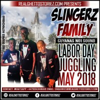 SLINGERZ FAMILY LABOR DAY JUGGLING AT VYBZ SPORTS BAR MAY 2018