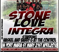 STONE LOVE IN ST MARY 21ST APRIL 2018