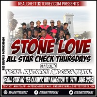 STONE LOVE AT ALL STAR THURSDAYS 14TH JUNE 2018