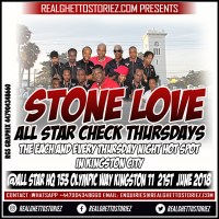 STONE LOVE LS JACK'S INTL IN BLACK RIVER 19TH MAY 2018