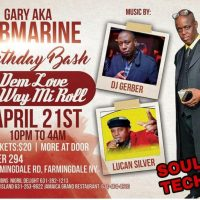 SOULTECH SOUND GARY AKA SUBMARINE BIRTHDAY APRIL 21ST 2018