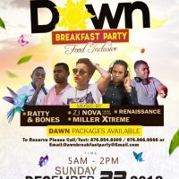 DJ INSANEO AND DJ ROMEO AT DAWN BREAKFAST PARTY 23RD DEC 2018