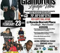 GLAMOROUS LIFESTYLE BLACK AND WHITE SOUL TO SOUL RETRO PARTY FEBRUARY 23RD 2019