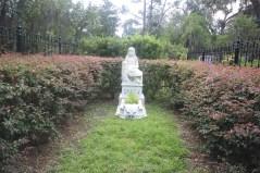 Gracie Watson grave at Bonaventure Cemetery