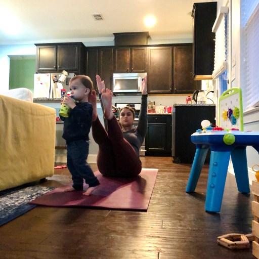 Mom Does Yoga