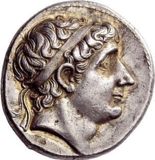 antiochus I coin
