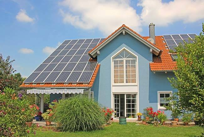 Solar-Powered-Homes