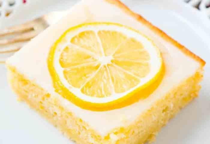 Lemon Cake Real Housemoms