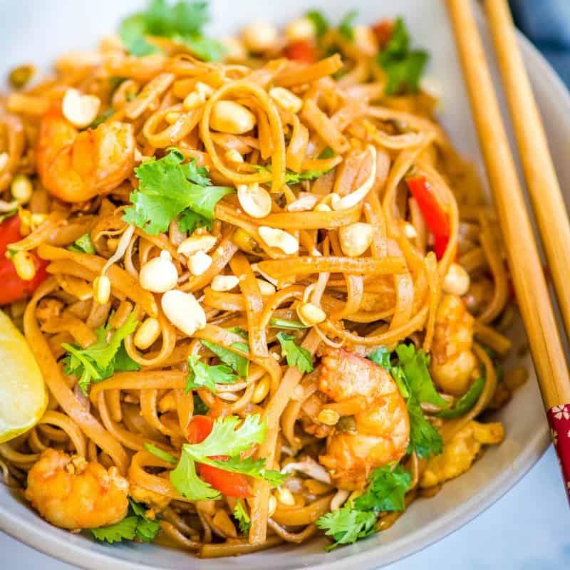 3 Easy Chicken Pad Thai