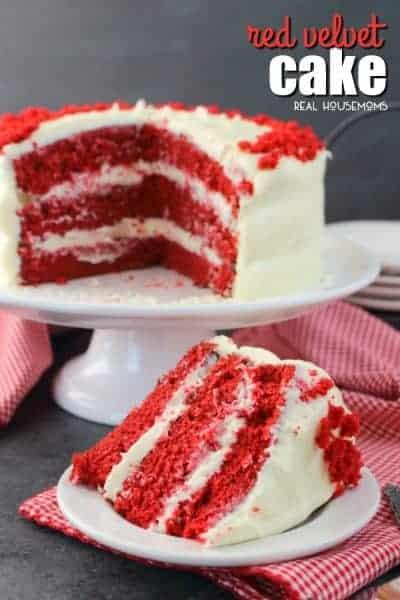 Cake Red Bake Easy Velvet