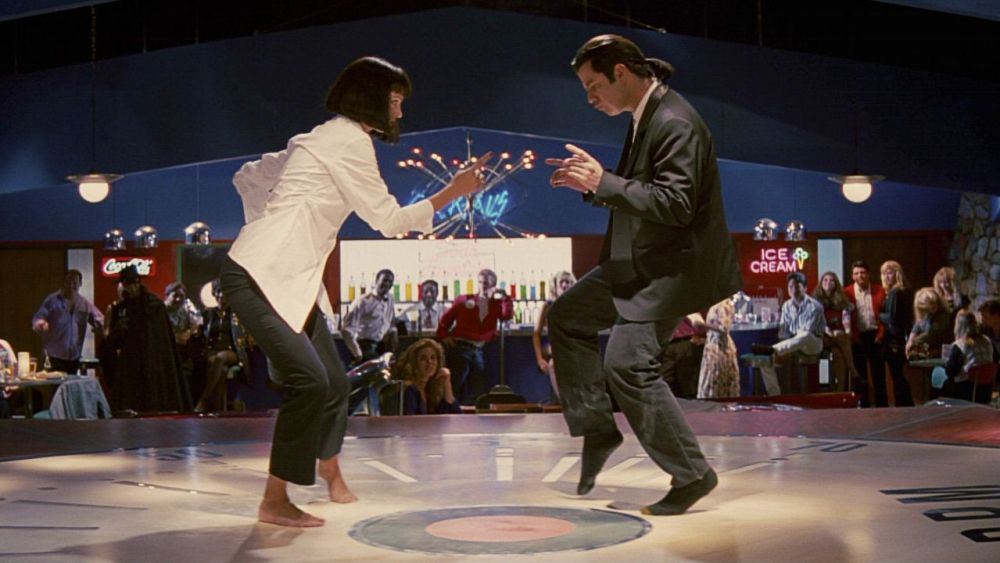 Pulp Fiction - Baile y trofeo
