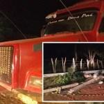 Motorista sem CNH é preso em J.de Freitas após derrubar postes e deixar bairro sem energia