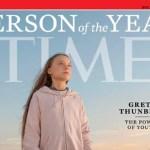 Greta Thunberg é eleita personalidade do ano pela revista 'Time'