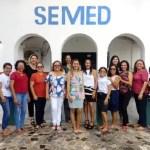 Equipe SEMED realiza homenagem ao dia internacional da muher