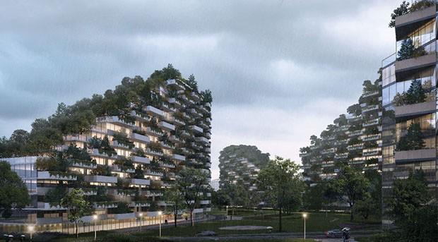 Primeira Cidade autossuficiente e florestada