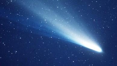 Você já ouviu falar no Cometa Halley?