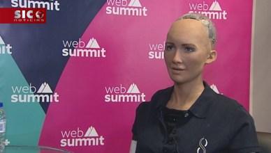 A impressionante entrevista dada pela robô Sophia