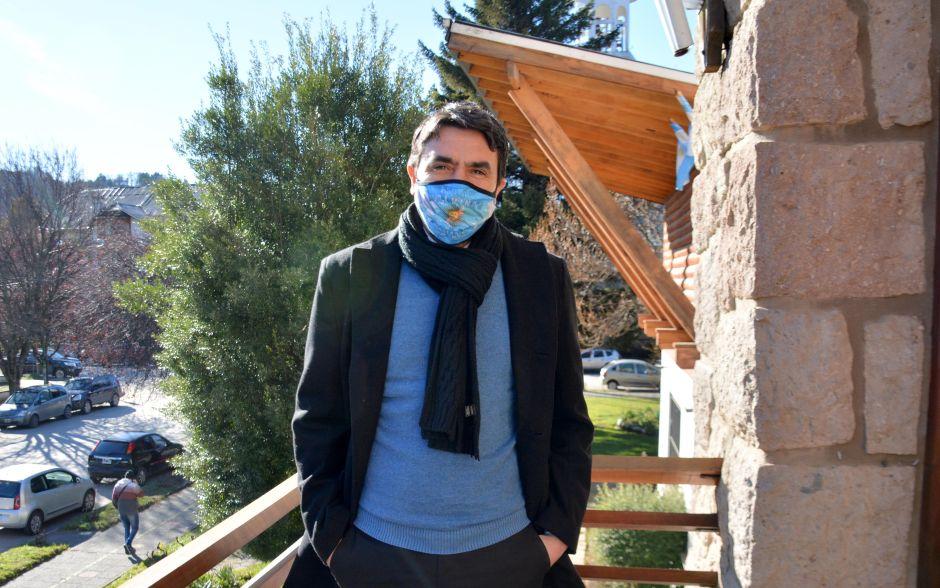 """Carlos Saloniti: """"San Martín de los Andes sigue demostrando que la gente se cuida y que las cosas están funcionando bien"""""""
