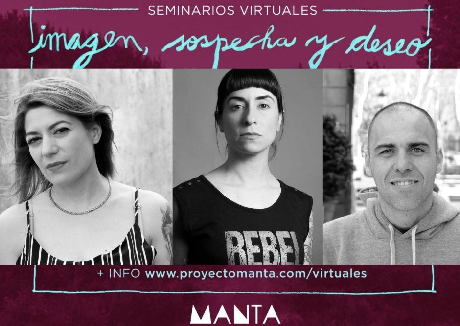 """El proyecto artístico sanmartinense Manta lanza seminarios virtuales: """"Imagen, sospecha y deseo"""""""