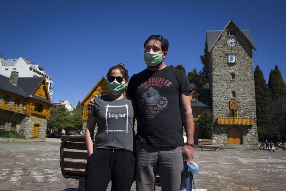 Llegaron los primeros turistas de la prueba piloto de Bariloche