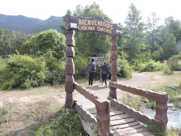 De paseo por la Selva Valdiviana hasta la Cascada Chachín
