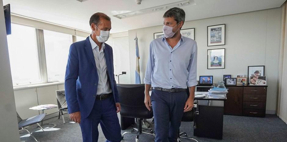 El gobernador Omar Gutiérrez se reunió con el ministro de turismo Matías Lammens