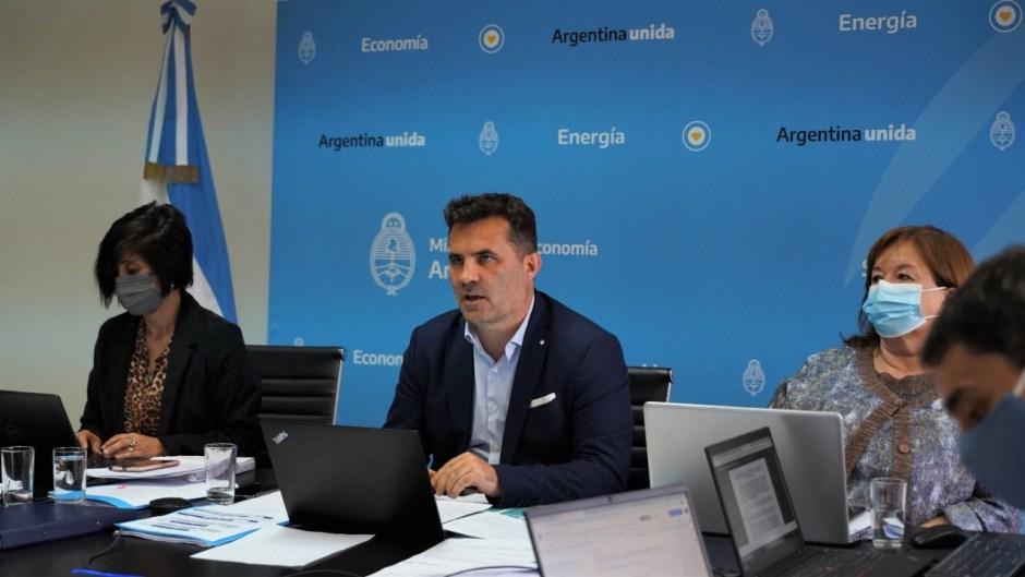 Darío Martínez expuso en el Senado los beneficios del proyecto de Ley de Promoción de Inversiones Hidrocarburíferas