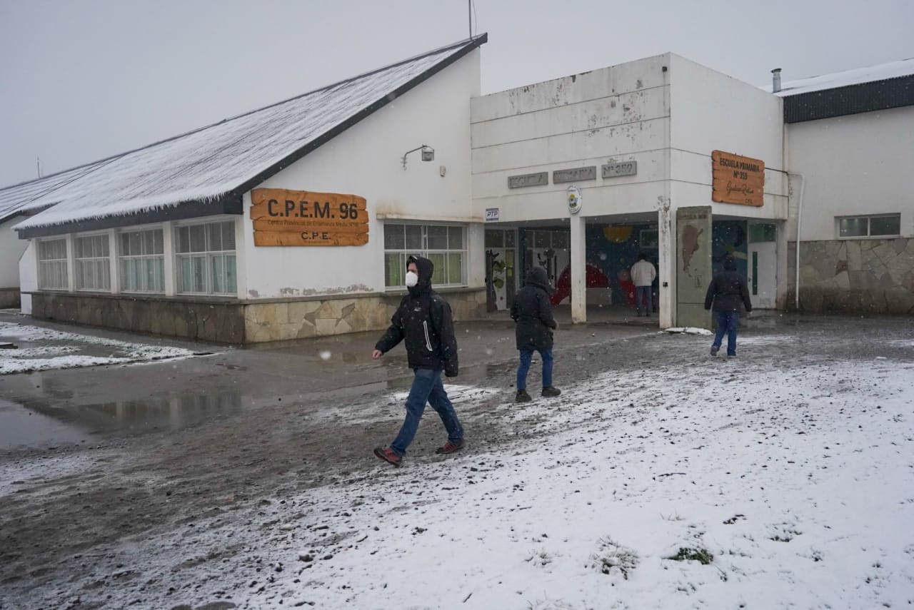 elecciones paso nieve escuela