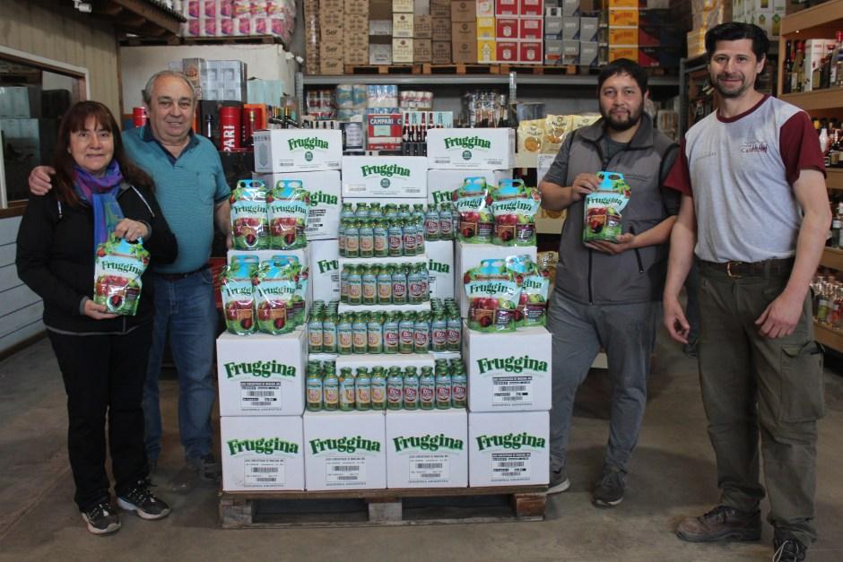 De la mano de Distribuidora Caleuche llega Fruggina a la región para disfrutar en jugo de la mejor fruta del Valle