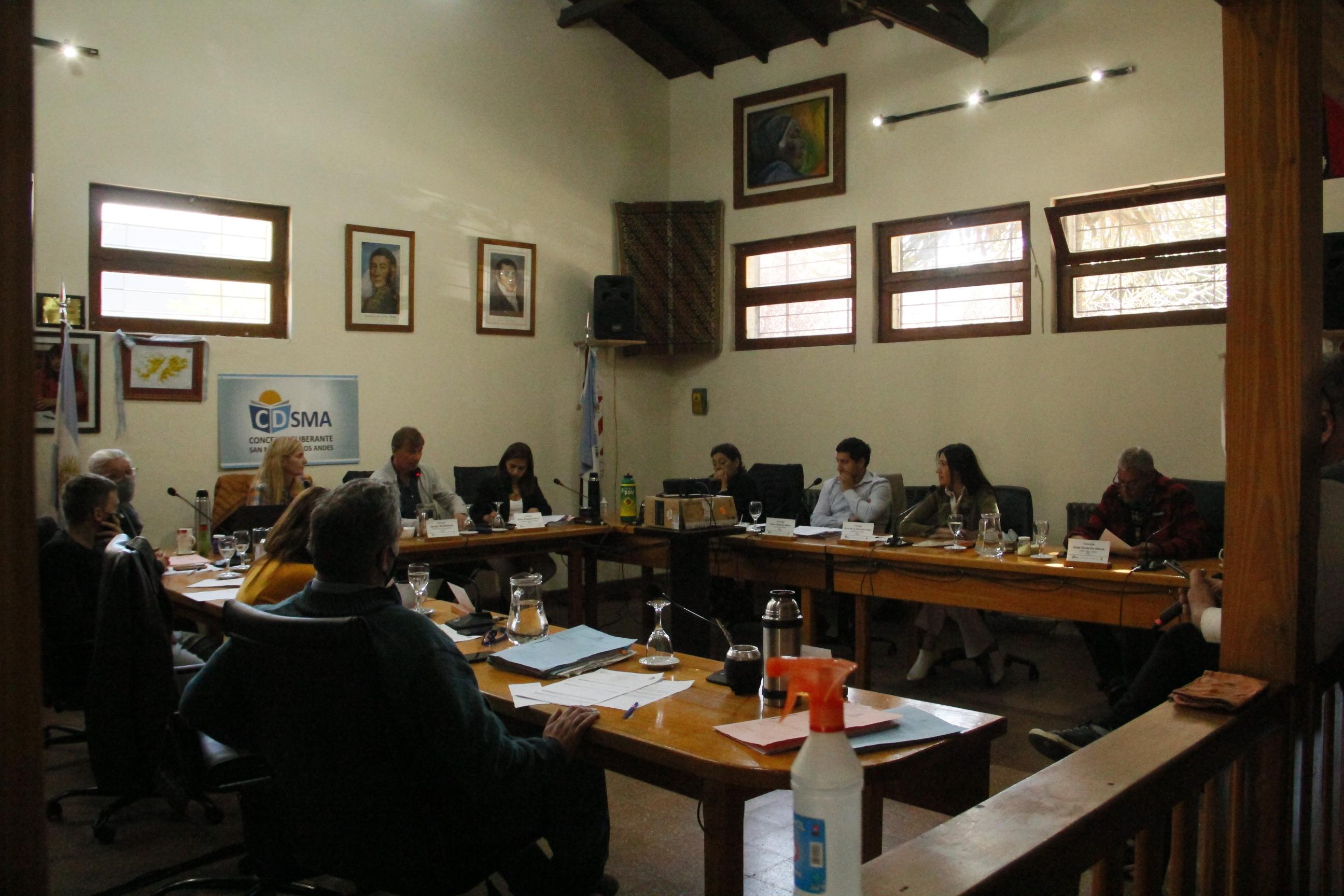 Sesión Concejo Deliberante