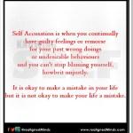 selfAccusation