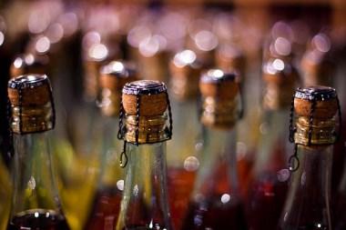 sealed wine