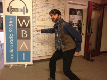 WBAI Community Radio, NYC 2014