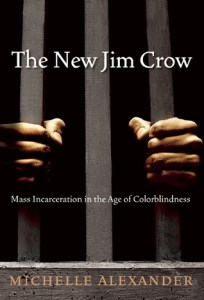 Cover of The New Jim Crow: Mass Incarceration in the Age of Colorblindnessbook