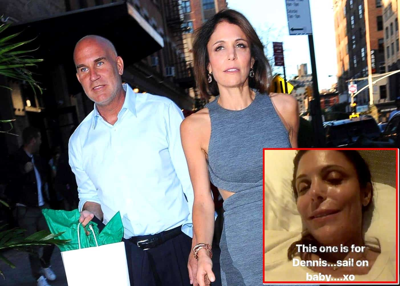 VIDEO RHONY Bethenny Frankel Posts Emotional Song To Late