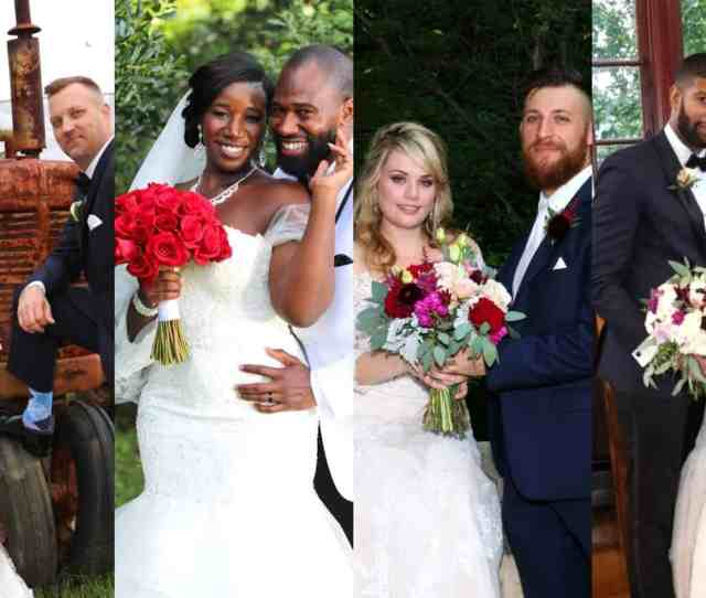 Mafs Season 8 Cast Photos Will Guess And Jasmine Mcgriff Luke Cuccurullo And Kate The Controversial Reality Series Married At First Sight
