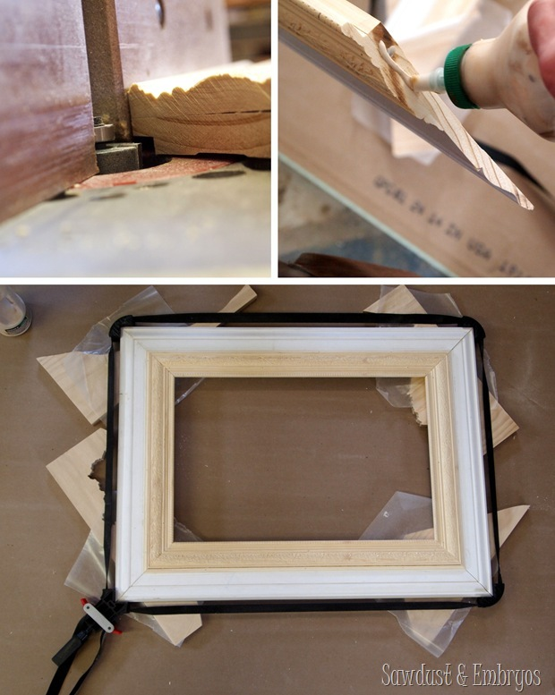 how to make own picture frame