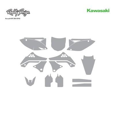 Kawasaki KXF 250 09-12 template