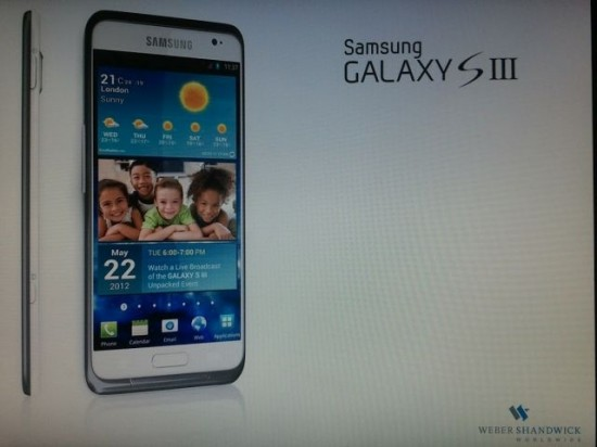 samsung galaxy s3 22 may original3 550x412 New Samsung Galaxy S3 Leaked Specs