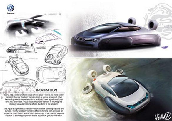 2ab35f8ca0490ba91b9e4635417e770d Volkswagen Aqua Hovercraft Concept Unveiled