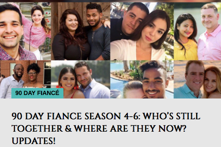 90 Day Fiancé Season 4-6: Who's still together & where are they now? Updates!