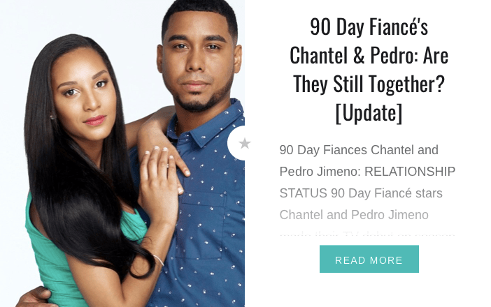 90 Day Fiancé's Chantel & Pedro: Update