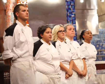 Who Went Home On Hell S Kitchen 2013 Last Night Episode 17